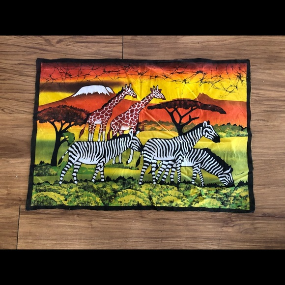 "Batik Fabric by F. Mahabad 28.5"" x 20"""